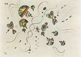 Wassily Kandinsky. Letzte Aquarell, 1944