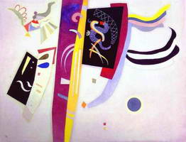 Wassily Kandinsky. Violett-Orange, 1935