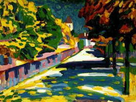 Wassily Kandinsky. Herbst in Bayern, 1908