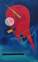 Wassily Kandinsky. Roter, 1924