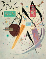 Wassily Kandinsky. Pointes noires, 1937