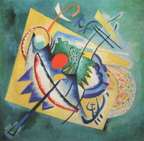 Wassily Kandinsky. Rotes Oval, 1920