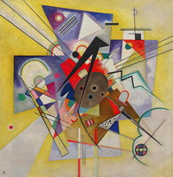 Wassily Kandinsky. Gelb Accompaniment, 1924